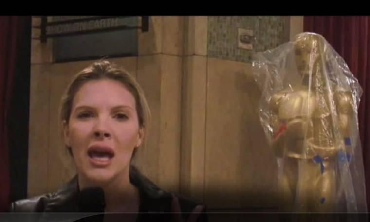Βίντεο: Η Χριστίνα Αλούπη στο Kodak Theatre των Όσκαρ