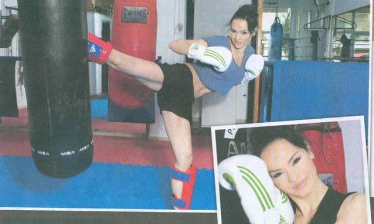 Νικολέττα Καρρά: Η αγάπη της για το Kick Boxing