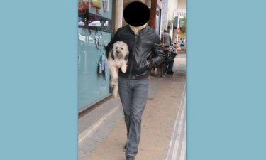Ποιος είναι ο επώνυμος που δεν αποχωρίζεται ούτε στιγμή τον σκύλο του;
