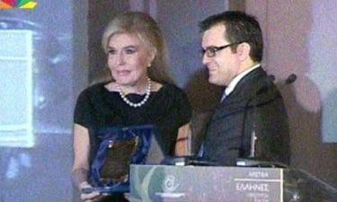 Βραβείο στην Μαριάννα Βαρδινογιάννη για το κοινωνικό της έργο