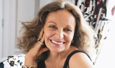 Η Diane Von Furstenberg για τις Ηousewives