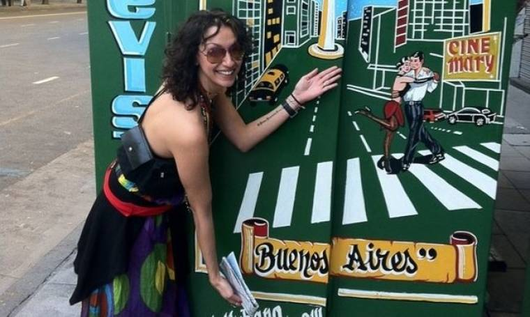 Η Δήμητρα Αιγινίτη στην Αργεντινή!