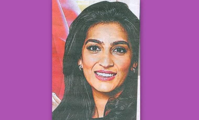 Η Ινδή «Miss Escada»