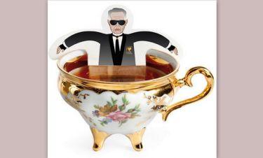 Πιείτε τσάι με τον Karl Lagerfeld