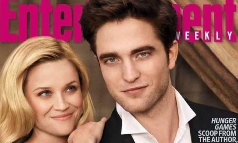 Pattinson και Witherspoon στο εξώφυλλο του EW