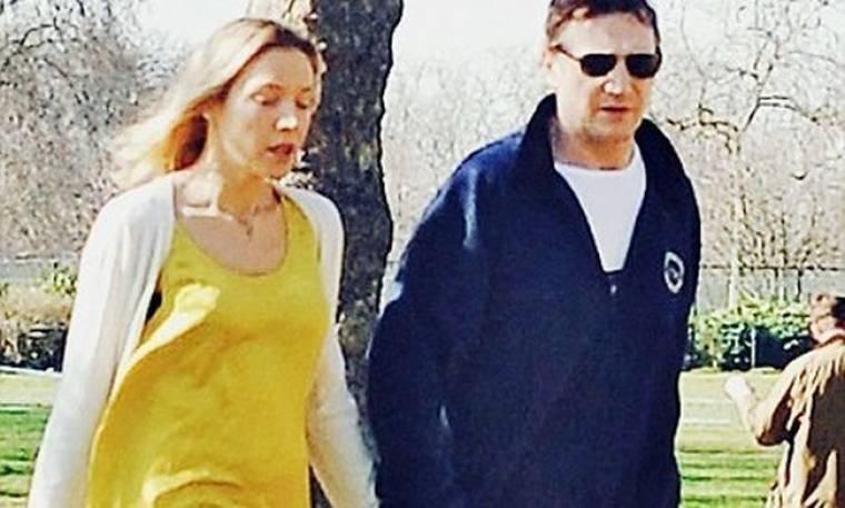 Η γυναίκα που «έκλεψε» την καρδιά του Liam Neeson