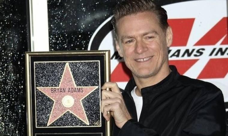 Ένα αστέρι για τον Bryan Adams