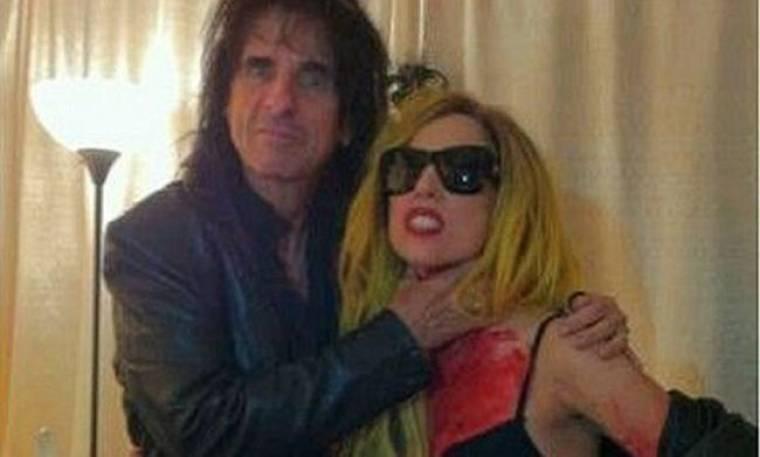 Όταν η Lady GaGa συνάντησε τον Alice Cooper