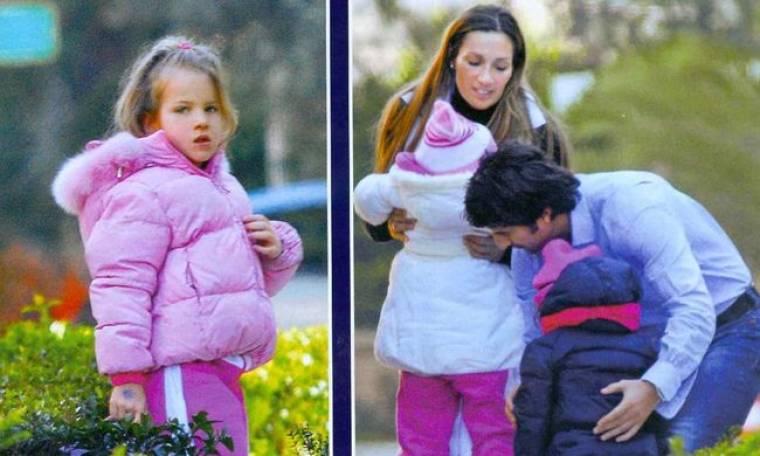 Πετρουλάκη – Ίβιτς: Όμορφες στιγμές με τις κόρες τους