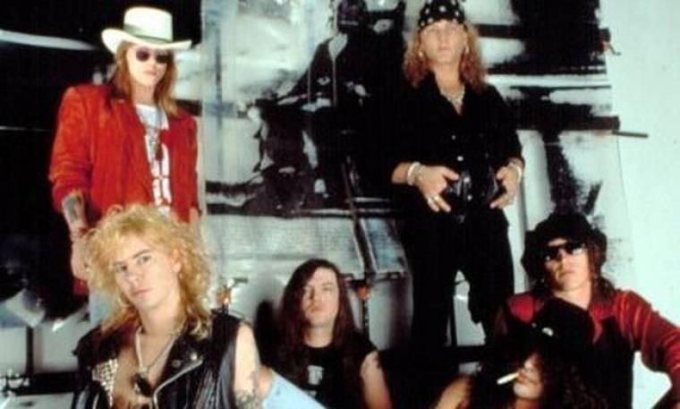 Τα άπλυτα των Guns n Roses στη φόρα