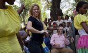 Η Shakira στην Αϊτή