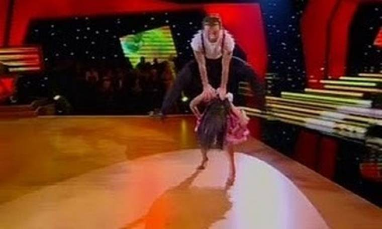 Dancing with the stars: To χορευτικό τoυ Αργύρη Αγγέλου