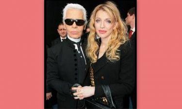 O Karl Lagerfeld έδωσε συμβουλές μόδας στη Courtney Love