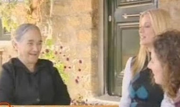 VIDEO: Η Ζέτα Μακρυπούλια μας ξεναγεί στο χωριό της