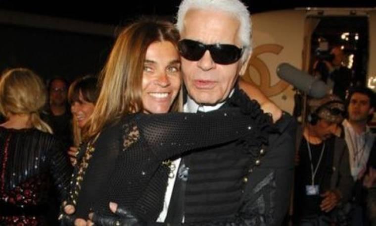 Τι έκανε η Carine Roitfield με τον Karl Lagerfeld;