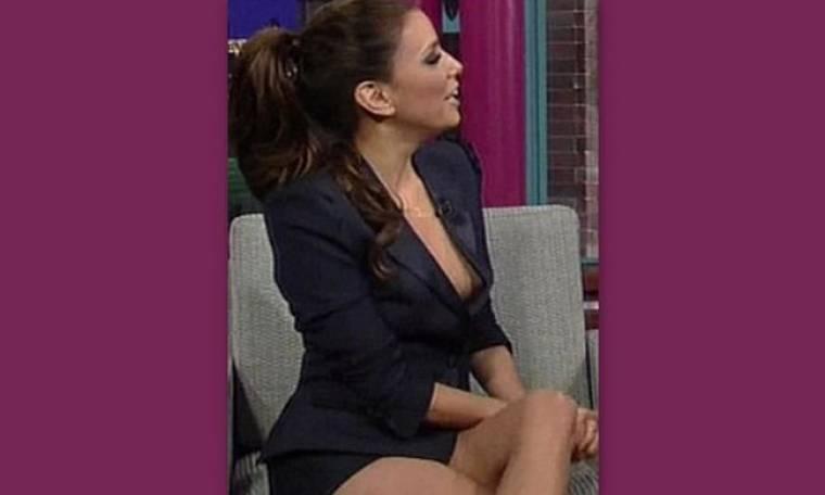 H Eva Longoria ξέχασε το παντελόνι της