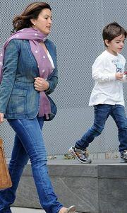 Η Mariska Hargitay κάνει βόλτες με την κόρη της