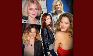 Η Drew Barrymore στο πέρασμα των χρόνων