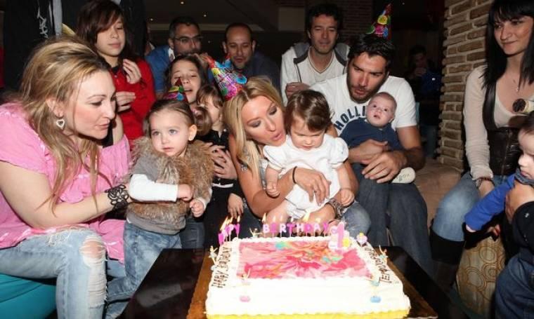 Τα πρώτα γενέθλια της κόρης της Έλσας Τόλη και του Αποστόλη Κουτρούλια