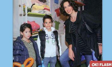 Νόνη Δούνια: Πασχαλινή έξοδος με τα παιδιά της