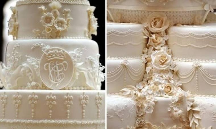 Οι τούρτες του William και της Catherine