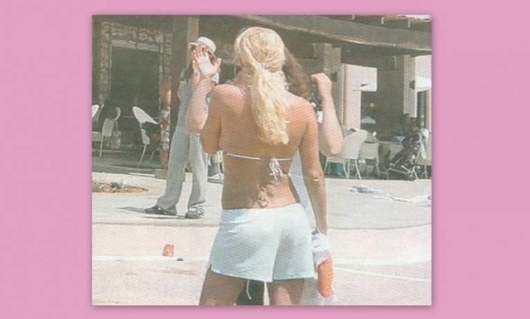 Νέες φωτογραφίες Μενεγάκη-Παντζόπουλου από τις κοινές τους διακοπές