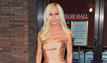 Donatella Versace: H γνωστή σχεδιάστρια γεννήθηκε σαν χτες