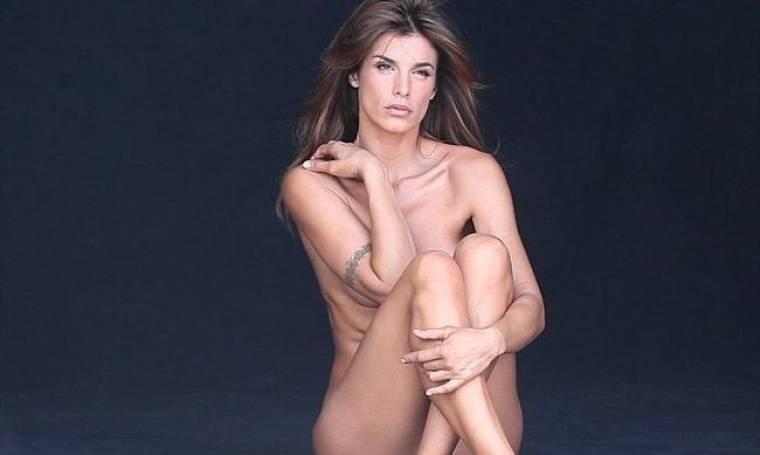 Elizabetta Canalis: Γυμνή για την PETA