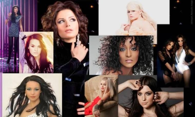 Οι ωραίες γυναίκες της Eurovision