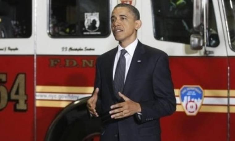 Ο Μπάρακ Ομπάμα στο «σημείο μηδέν»