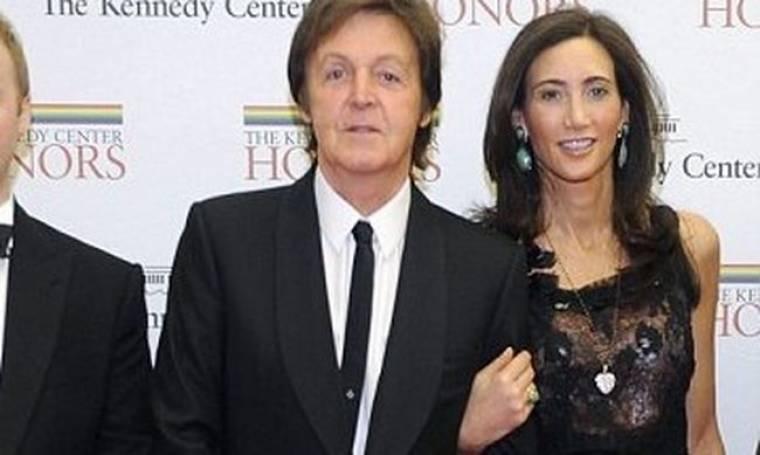 Πανευτυχής για τον αρραβώνα ο Paul McCartney