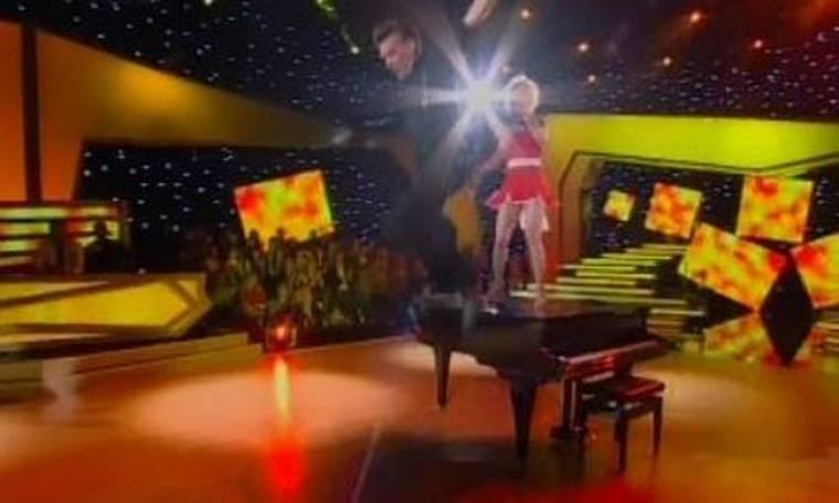Εκπληκτικός ο Σπύρος Σούλης στο αποψινό live του Dancing