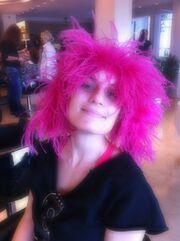 Η Ελεονώρα Μελέτη έγινε… ροζ!