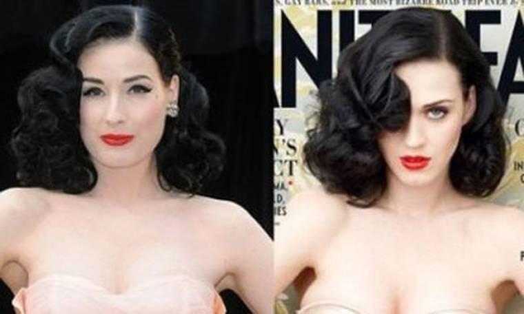 Katy Perry Vs Dita Von Teese: Βλέπετε κάποια ομοιότητα;
