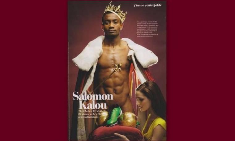 Ο… γυμνός Salomon Kalou δηλώνει: «Όχι sex πριν τους αγώνες»