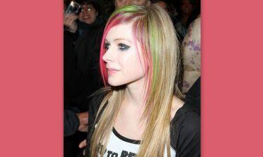 Τριχρωμία για την Avril Lavigne
