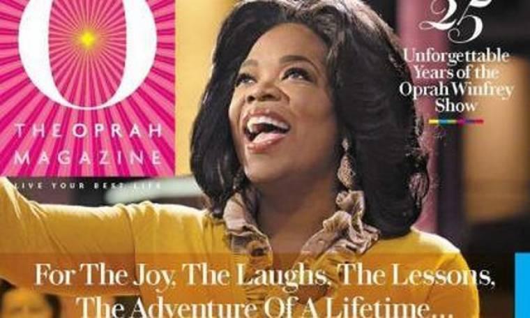 Η Oprah αφιερώνει το περιοδικό της στα 25 χρόνια εκπομπής