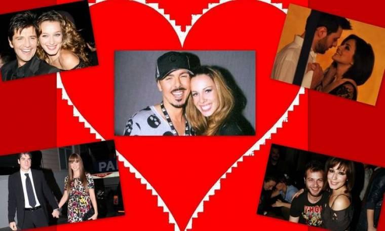 Τα πιο ερωτευμένα ζευγάρια της ελληνικής showbiz