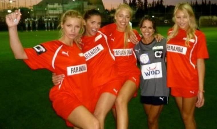 Majenco's Point of View: Ποδόσφαιρο για καλό σκοπό (snapshots από την Σαμάνθα Αποστολοπούλου)