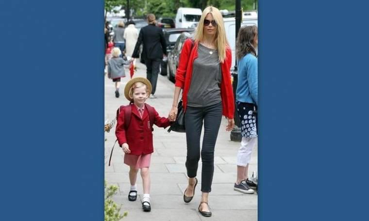 Claudia Schiffer: Από super model... super μαμά!