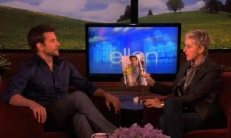 Bradley Cooper: «Με περνούσαν για κορίτσι»