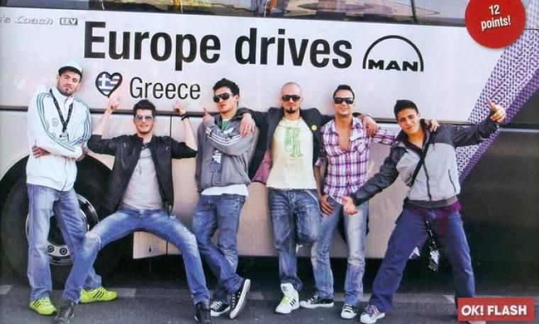 Eurovision: Οι «privet» φωτογραφίες της Ελληνικής αποστολής στη Γερμανία