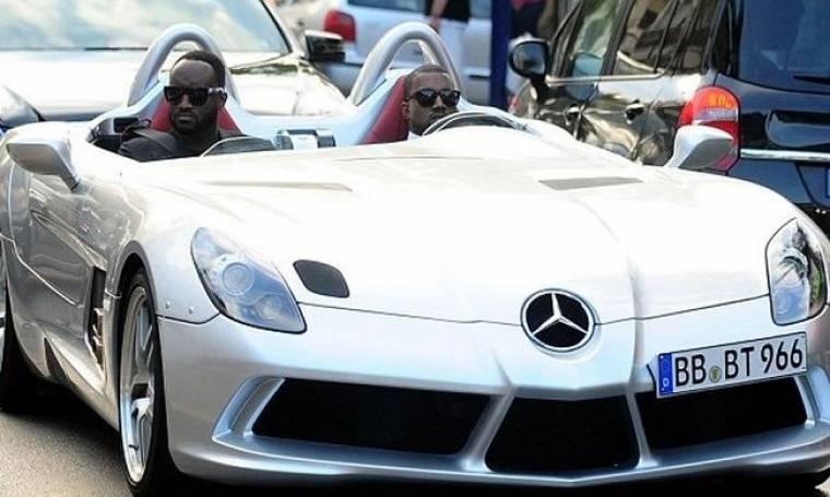 Kanye West: Σε φιλανθρωπική γιορτή με σπορ πανάκριβο αυτοκίνητο