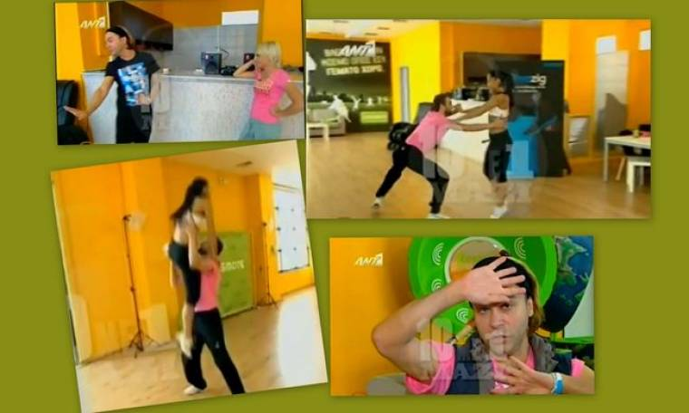 Dancing: Δείτε τις πρόβες Σαμαρά-Αγγέλου