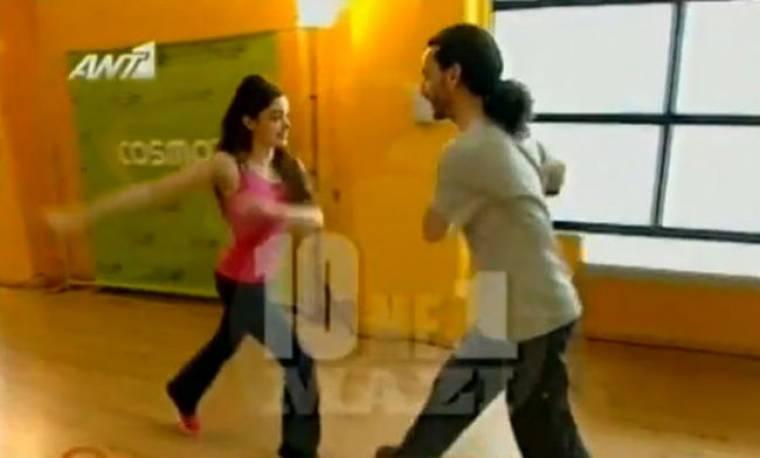 VIDEO: Η Νίκη Πόντε κάνει πρόβα για την guest εμφάνισή της στο Dancing