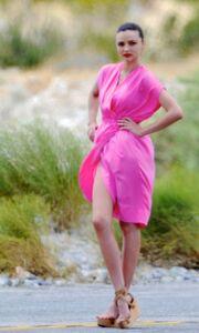 Νέα φωτογράφηση για τη Miranda Kerr