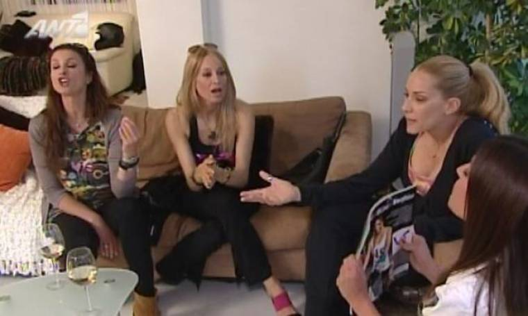 """Videos: Πρωτοφανείς καβγάδες στο χθεσινό """"Real housewives of Athens"""""""