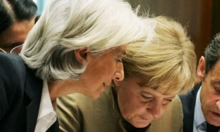 Σταθερή στήριξη Μέρκελ στη Λαγκάρντ για ΔΝΤ