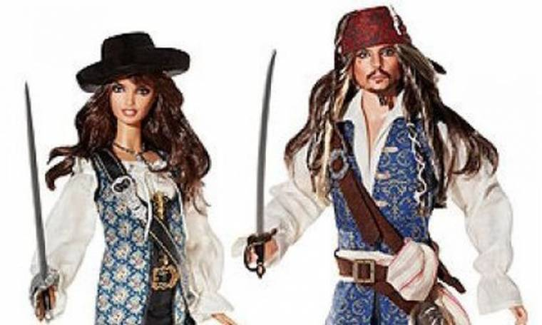 Ο Johnny Depp και η Penelope Cruz έγιναν κούκλες