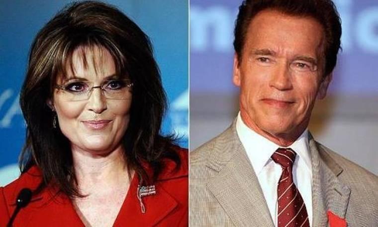 Sara Palin εναντίον Schwarzenegger